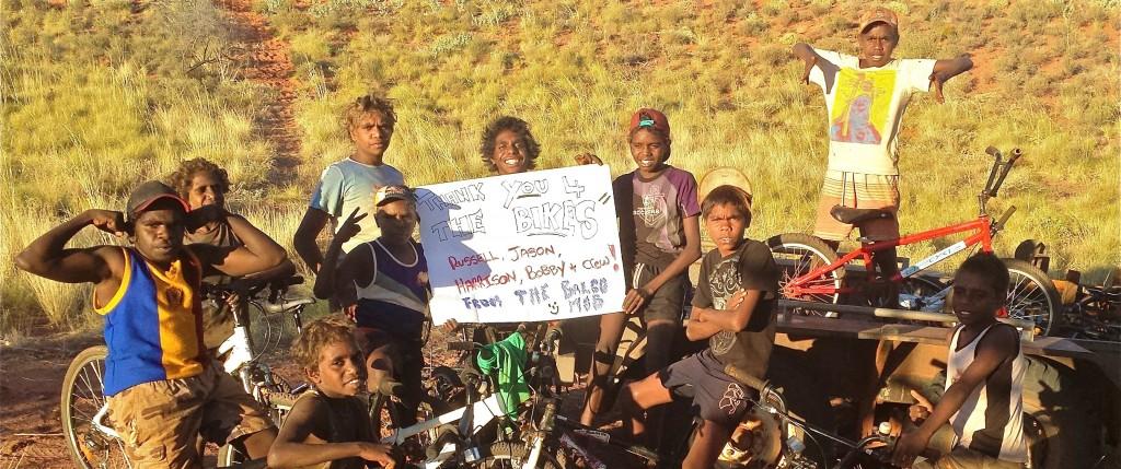 Bicycles for Humanity Western Australia  - Aboriginal Communities